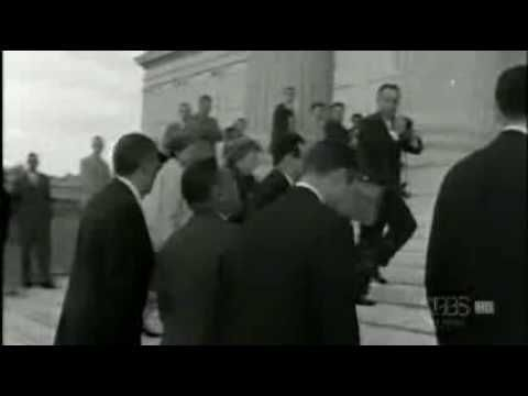 """Brown v. Board of Education - Brown v. Board of Education, 1954, was a landmark United States Supreme Court case in which the Court declared state laws establishing separate public schools for black and white students unconstitutional. Handed down on May 17, 1954, the Warren Court's unanimous (9–0) decision stated that """"separate educational facilities are inherently unequal."""" This ruling paved the way for Integration & the Civil Rights movement."""