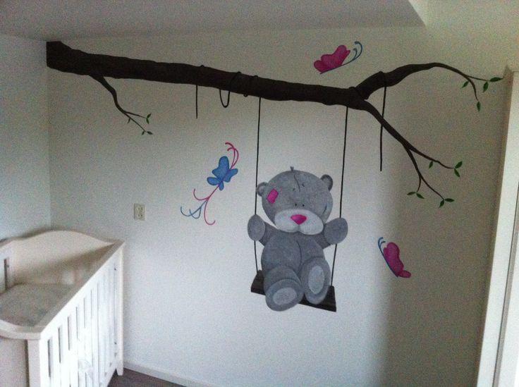18 best muurschilderingen babykamers images on pinterest, Deco ideeën