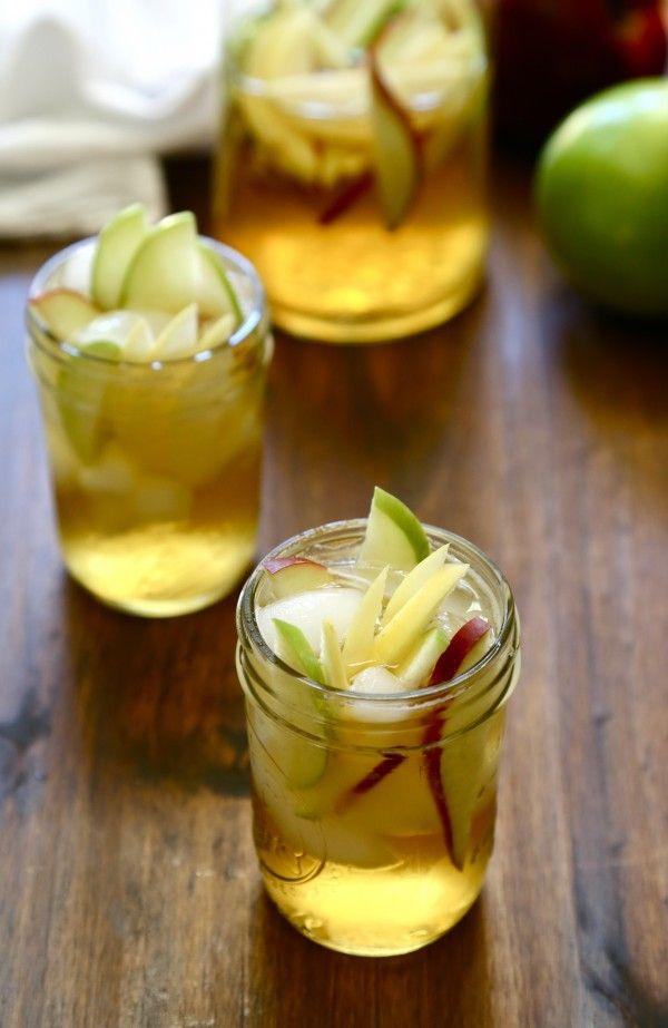 bourbon apple sangria