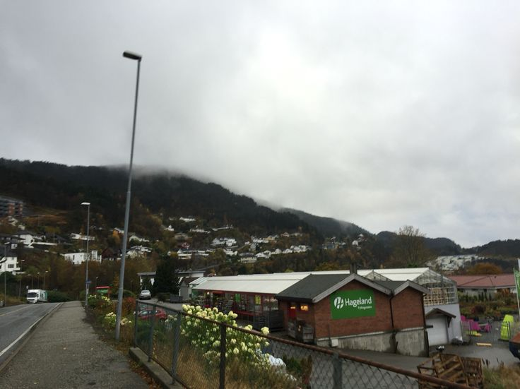 Løvstakk mountain, Fjell, montanha. Fyllingsdalen, Bergen, Norway.