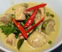 THAI GREEN CHICKEN CURRY - thermomix