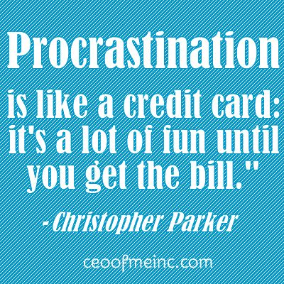 coping with procrastination essay Coping with procrastination rebecca moore, barbara baker and arnold packer college success, 1997 any discussion of time management would not be complete.