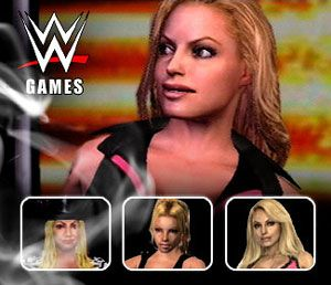 Evolution of Trish Stratus in @WWE games