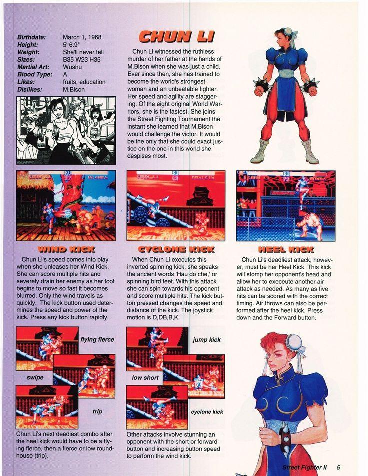 VGJUNK, Chun-Li, Street Fighter II.