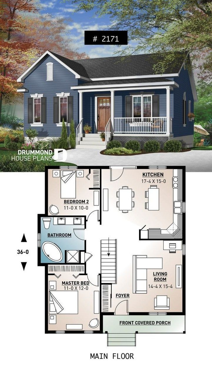 47 adorable free tiny house floor plans 28