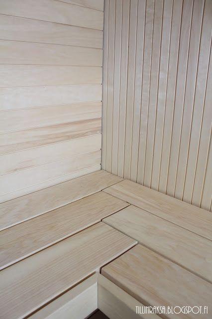 Esittelyssä: Itse tehty sauna | TillinRaksa | Bloglovin'