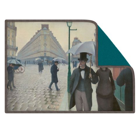 Paris Street; Rainy Day--Get your favorite artwork on a premium microfiber Smart Cloth to clean screens, lenses, and more!