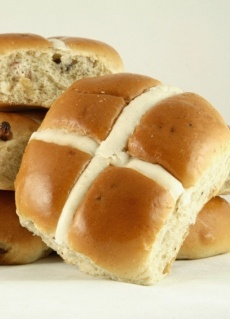 Make your own hot cross buns!