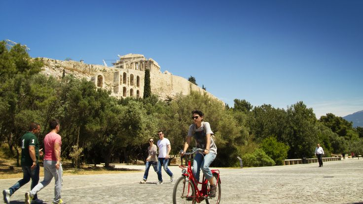 The pedestrianised DIonysiou Areopagitou Street is the longest walkway in Athens and will assimilate you into a living open-air museum. * Dowload for free the Athens by GreekGuide.com app and meet the best out of Athens ---> App Store http://bit.ly/1cFOala and Google Play http://bit.ly/1bKKC15
