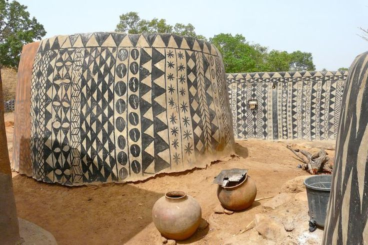 You will be marveled by this authentic monumental art of a small Burkina Faso village! - Funny brain training quizzes - Trivia - Interesting facts - Personality tests | Quizzclub.com