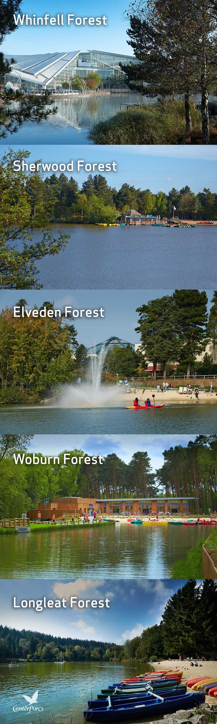 All five of our stunning locations in the UK are set in vast natural forest landscapes with lakes and up to 400 acres of woodland to explore. Enjoy the natural surroundings of the English countryside and escape for a short UK break that all your family can enjoy