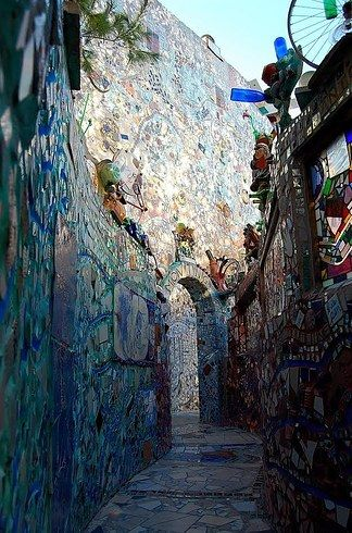 …or in Philadelphia's Magic Gardens. | 13 Reasons You Should Live In Philly At Least Once In Your Life