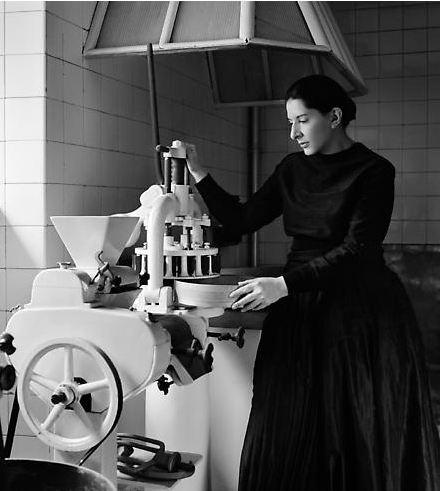 Marina Abramovic - The Kitchen VI - Homage to Saint Therese - 2009