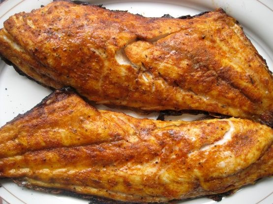 Charcoal-Grilled Blackened Red Snapper Recipe - Red.Food.com