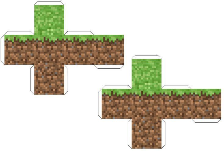 Minecraft, Papercraft ...