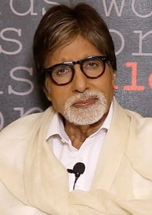 Amitabh Harivansh Bachchan born 11 October 1942 is an Indian film actor. Bachchan is widely regarded as one of the greatest and most influential actors in the history of Indian cinema.