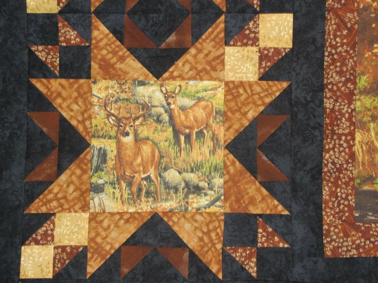 wildlife quilt patterns | cover with lots of our men may cuddle quilt bedding quilting technique ...