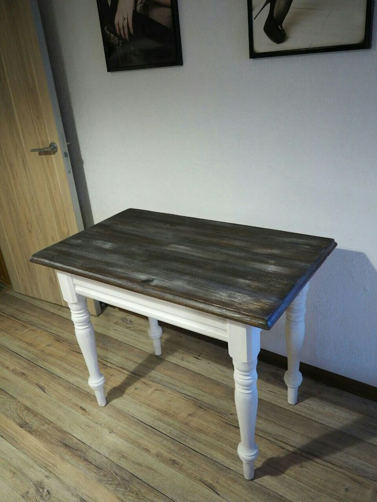 Переделка старого стола из сосны, переделка мебели, перекраска мебели, стол, деревянный стол, стол из массива