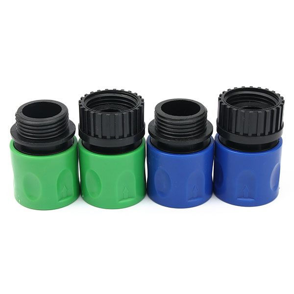 3/8 telescópicas conectores de tubo manguera de jardín conjunto femenino y masculino