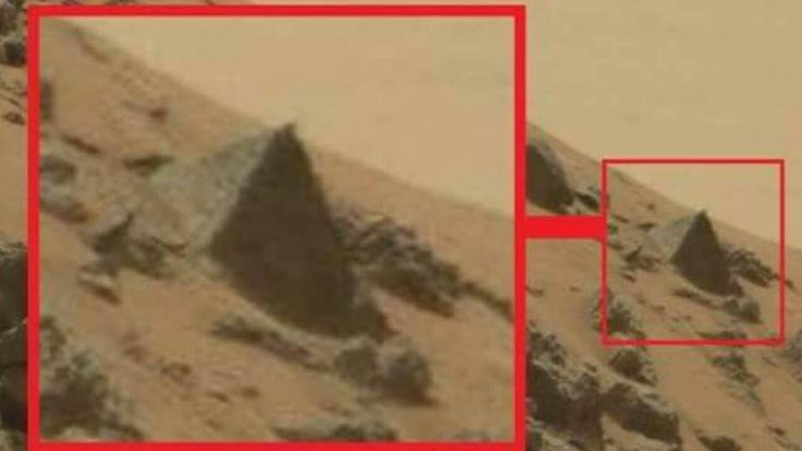 In the latest news on space exploration, NASA's Mars rover found what looks like…