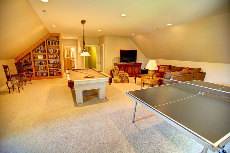 1000 ideas about garage game rooms on pinterest 3 car for 2 car garage with bonus room