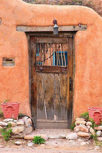 Door in Santa Fe, New Mexico
