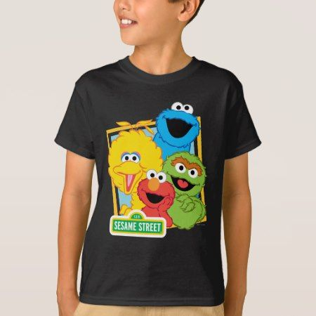 Sesame Street Pals T-Shirt - tap, personalize, buy right now!