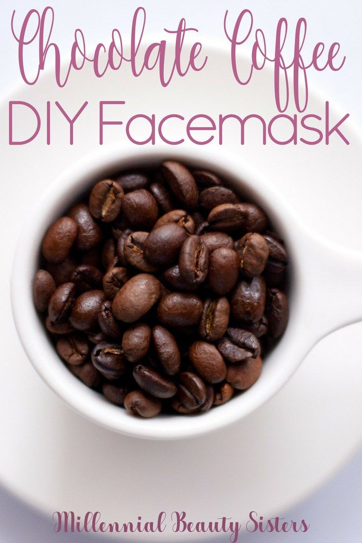 Chocolate Coffee Coconut Oil DIY Facemask
