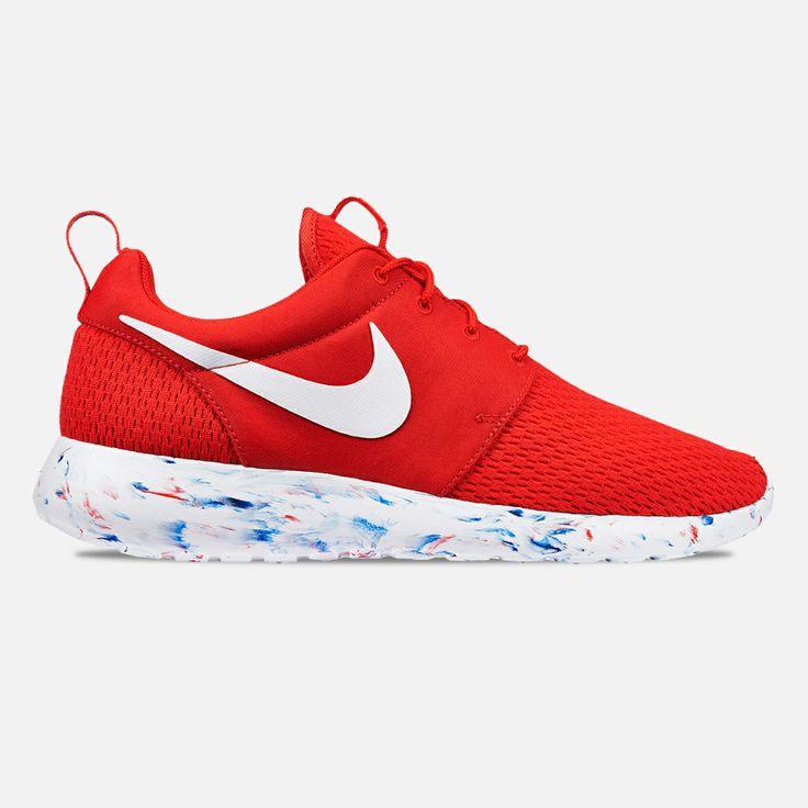 The new Nike Roshe Run M (Challenge Red/White-Laser Crimson) will