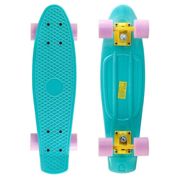 Penny Style Nickel Cruiser Board 27 inch Complete Plastic Skateboard