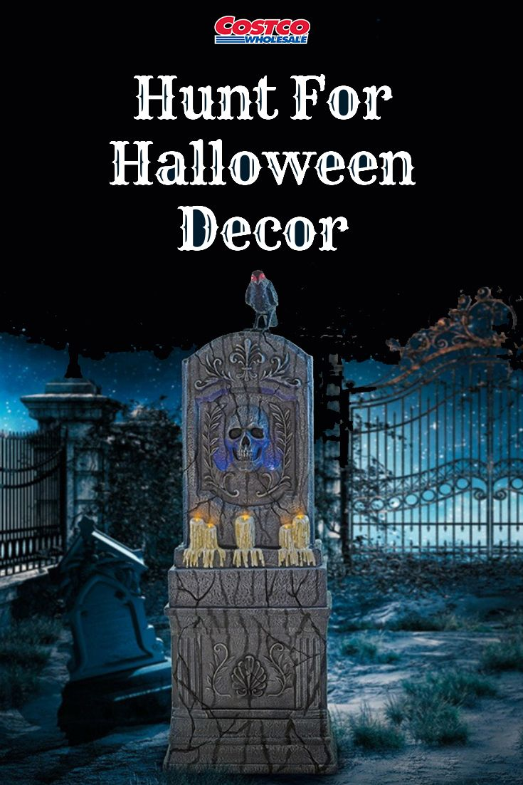 Hunt For Halloween Decorations At Costco Find Products To
