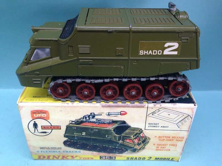 DINKY TOYS 353 SHADO 2 SPACE 1999 UFO DESTROYER MOBILE TANK BOXED RARE