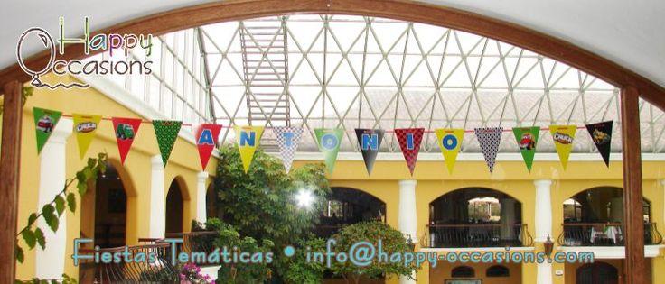 Banderín www.happy-occasions.com