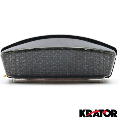 Krator® Smoke LED Tail Light Integrated with Turn Signals For 2004-2008 Ducati Monster 400 / 600 / 620 / 695