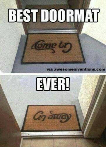 Best doormat ever
