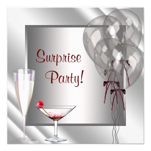 16 best Surprise 50Th Birthday Invitations images on Pinterest - birthday invitation model