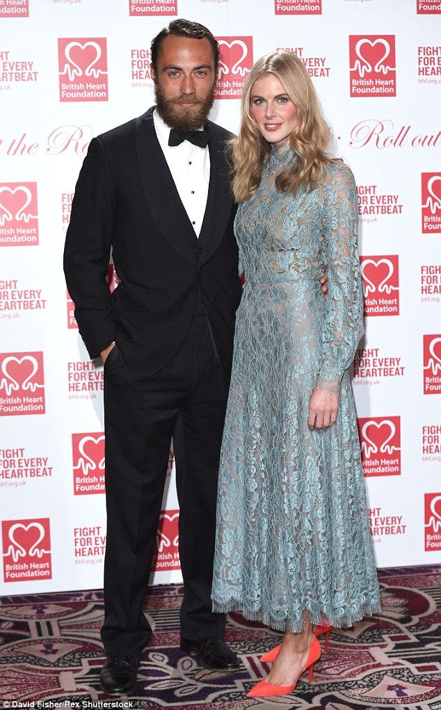 Going their separate ways: Donna Air and James Middleton are alleged to have ended their relationship after two-and-a-half years of dating