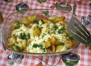 W Mojej Kuchni Lubię.. : ziemniaki z piekarnika...