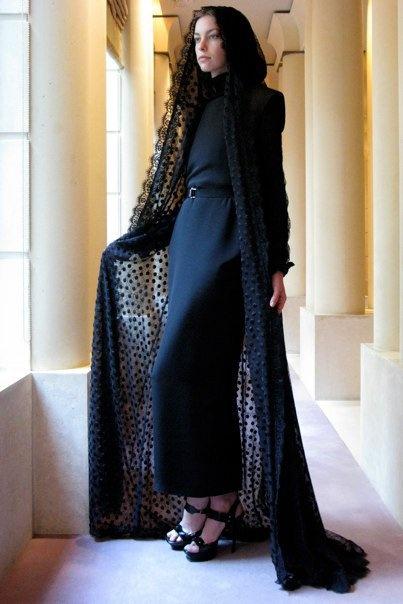All in one shop: ALessandra Rich Abaya design autumn/winter 2010