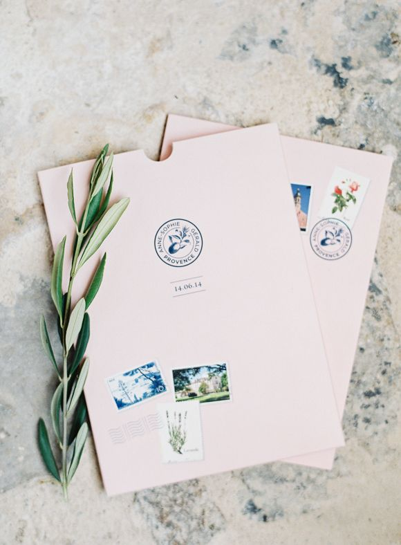 Chic Blush and Pale Blue Real Wedding in Provence | Wedding Sparrow | O'Malley Photographers