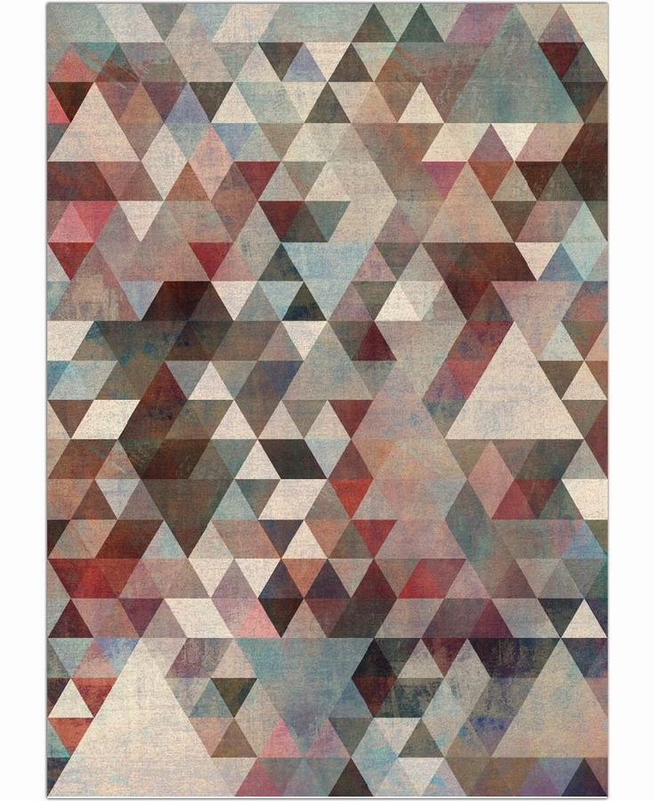 Triangles Rusty of Francisco Valle now on JUNIQE!