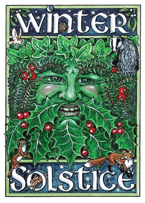 Winter Solstice:  BOS Winter Solstice cover page.