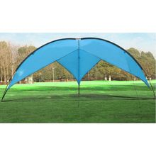 Outdoor Camping gazebos fishing canopy auto tents car awning barbecue sunshade Sandy beach tent 4.80*4.80*4.80*2m Sun Shelter