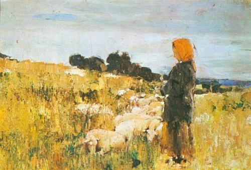 Shepherdess, Stefan Luchian