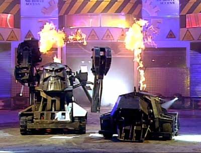 Psycho and Growler - House Robots from UK Robot Wars