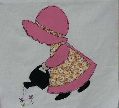 Free Sunbonnet Sue Quilt Pattern | ... to hundreds of free quilting patterns membership is free and easy