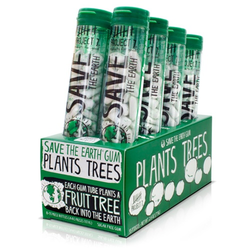 Plant With Purpose is partnering with Project 7 by selling gum. Buy their gum and be a part of planting fruit trees in haiti!