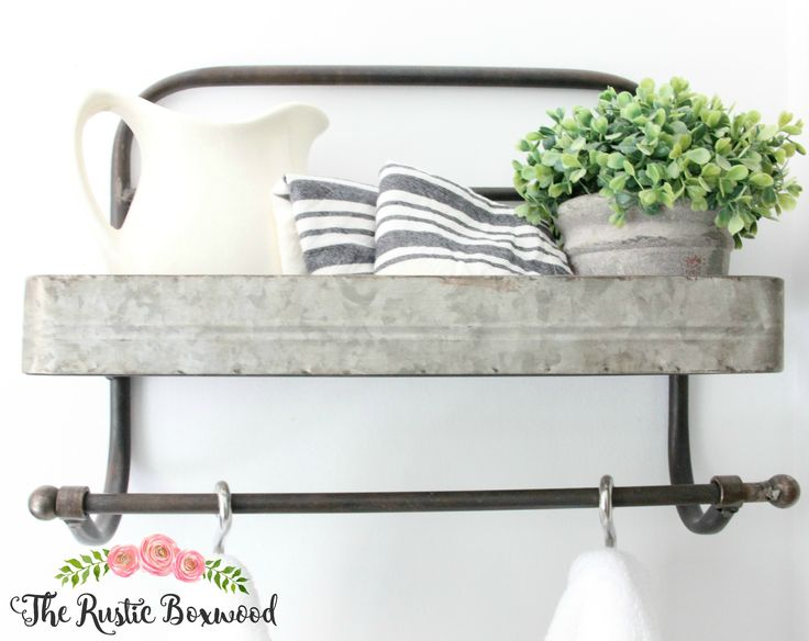 The Rustic Boxwood || Adding farmhouse touches in the bathroom | decorating, farmhouse touches, farmhouse charm, white, style, progress, decor, bathroom decor, home decor