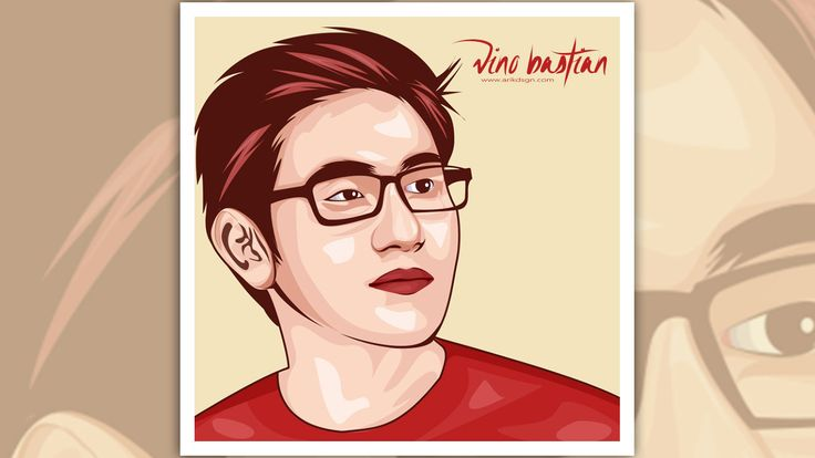 Hey everyone. This time I will show you how to create vector portrait with adobe illustrator cc, here I am using photo models bastioan vino. Hopefully useful and enjoy!