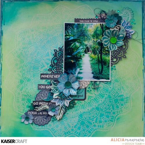 Kaisercraft Ubud Dreams Layout